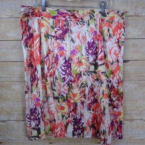 Liz Claiborne Lined Cotton Skirt - Size 16